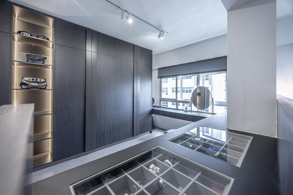Modern, HDB, Tampines North Drive 1, Interior Designer, Builders Plus, Contemporary