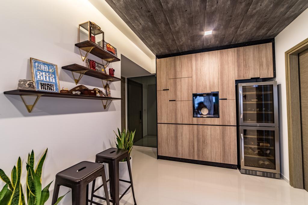 Modern, Condo, Living Room, The Terrace, Interior Designer, Builders Plus, Scandinavian