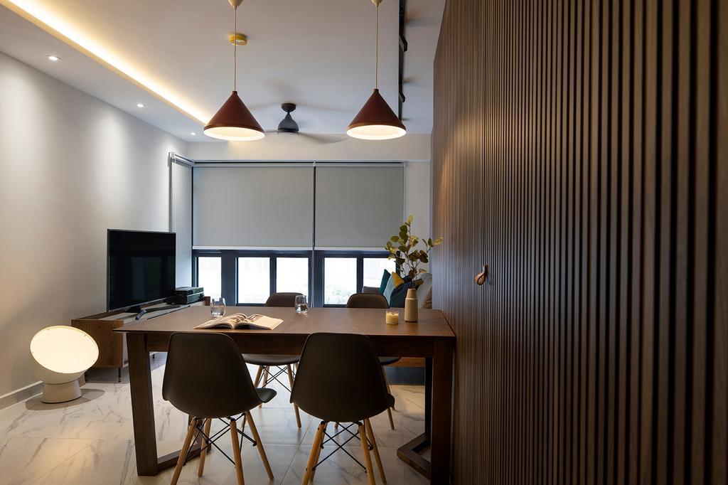 Contemporary, HDB, Living Room, Bidadari Park Drive, Interior Designer, ELPIS Interior Design, Scandinavian