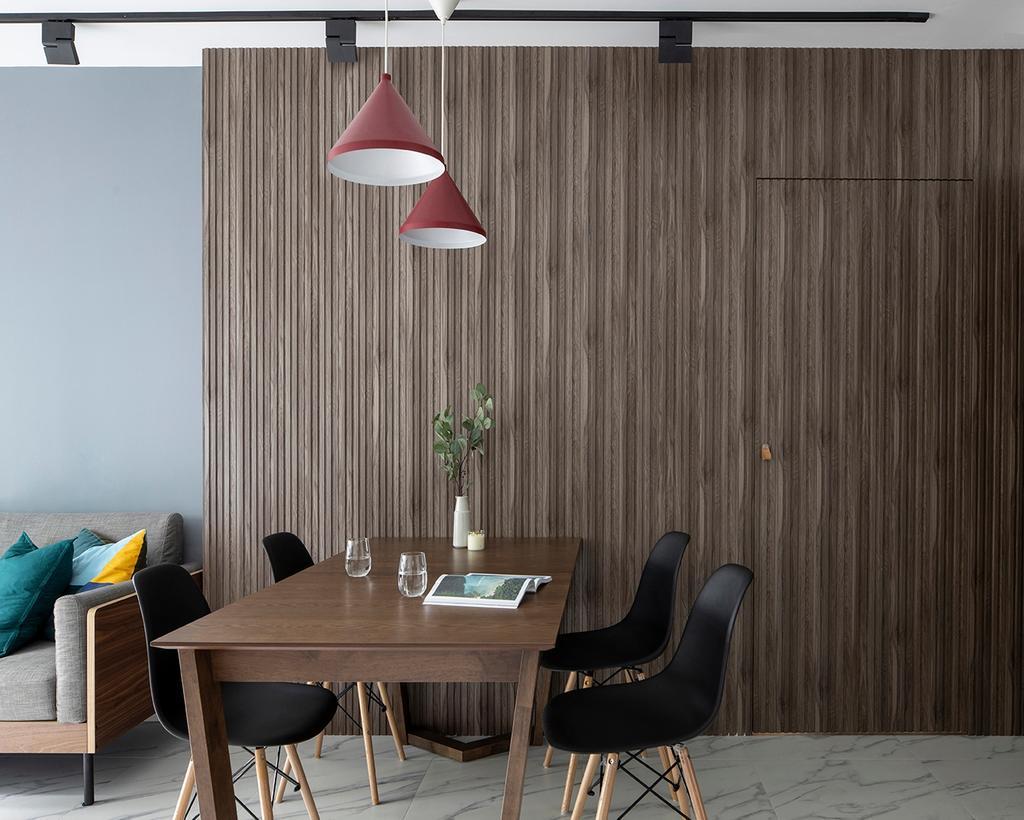 Contemporary, HDB, Dining Room, Bidadari Park Drive, Interior Designer, ELPIS Interior Design, Scandinavian