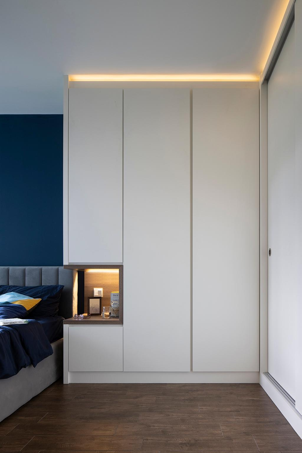 Contemporary, HDB, Bedroom, Bidadari Park Drive, Interior Designer, ELPIS Interior Design, Scandinavian
