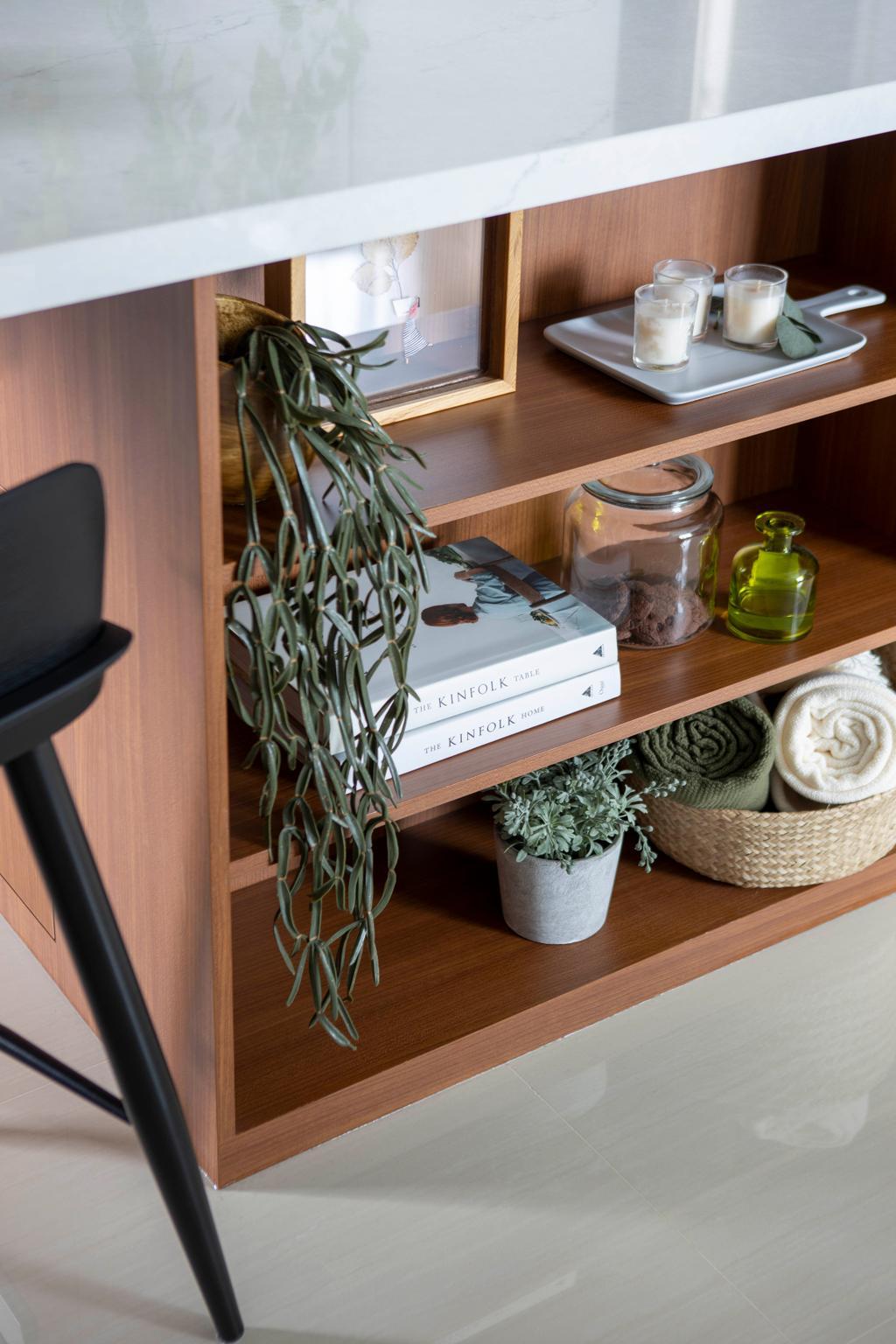 Minimalistic, HDB, Kitchen, Bidadari Park Drive, Interior Designer, Authors • Interior & Styling