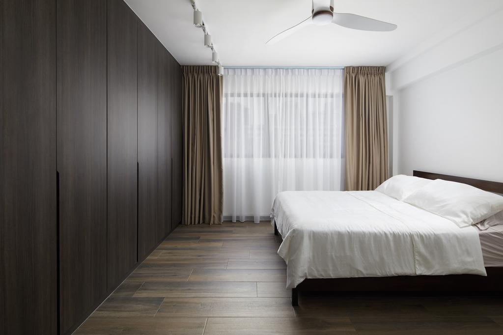 Contemporary, HDB, Bedroom, Bishan Street 12, Interior Designer, Ovon Design, Minimalistic
