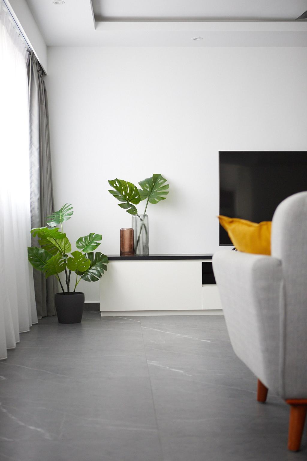 Contemporary, HDB, Living Room, Bishan Street 12, Interior Designer, Ovon Design, Minimalistic