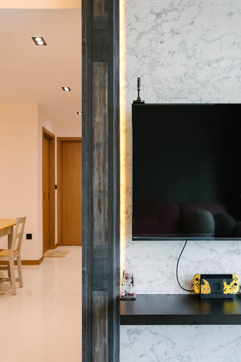 Modern, HDB, Living Room, Canberra Street, Interior Designer, Tab Gallery, Contemporary