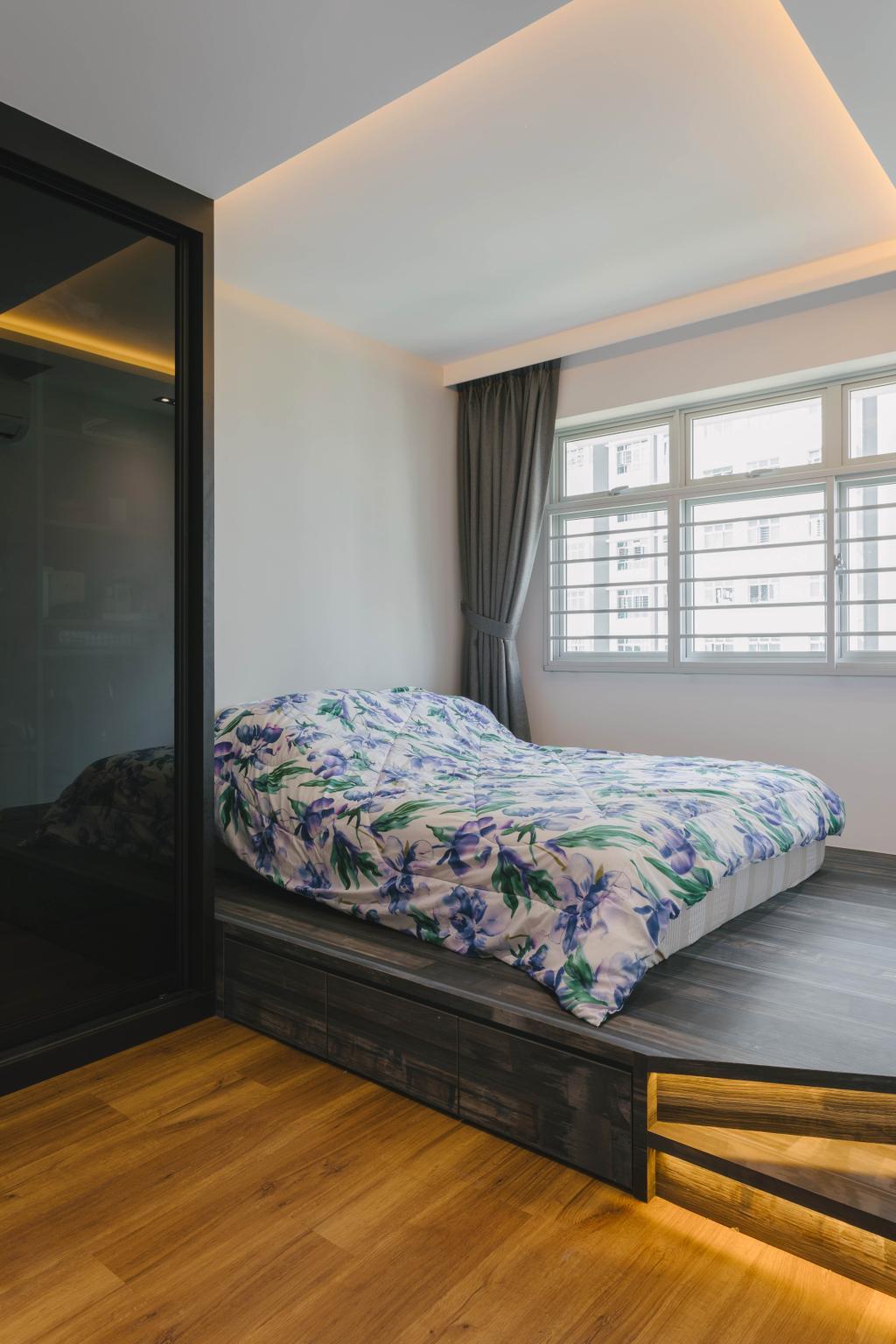 Modern, HDB, Bedroom, Canberra Street, Interior Designer, Tab Gallery, Contemporary