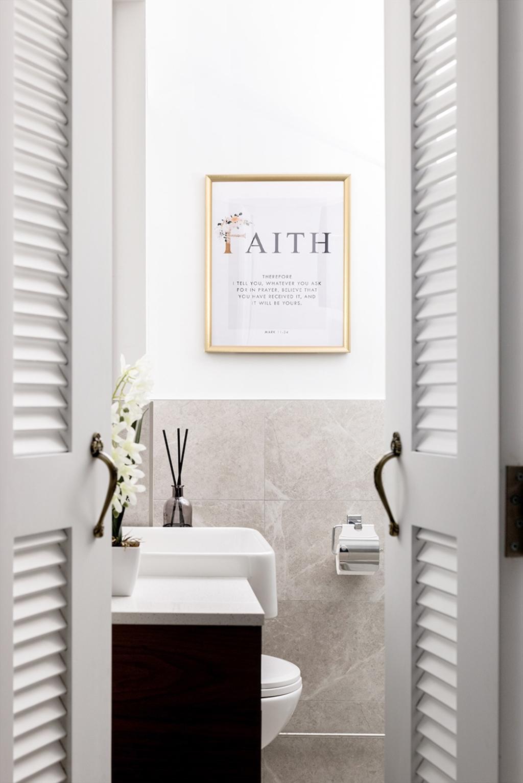 Contemporary, HDB, Bathroom, Lorong Ah Soo, Interior Designer, Anhans Interior Design, Scandinavian