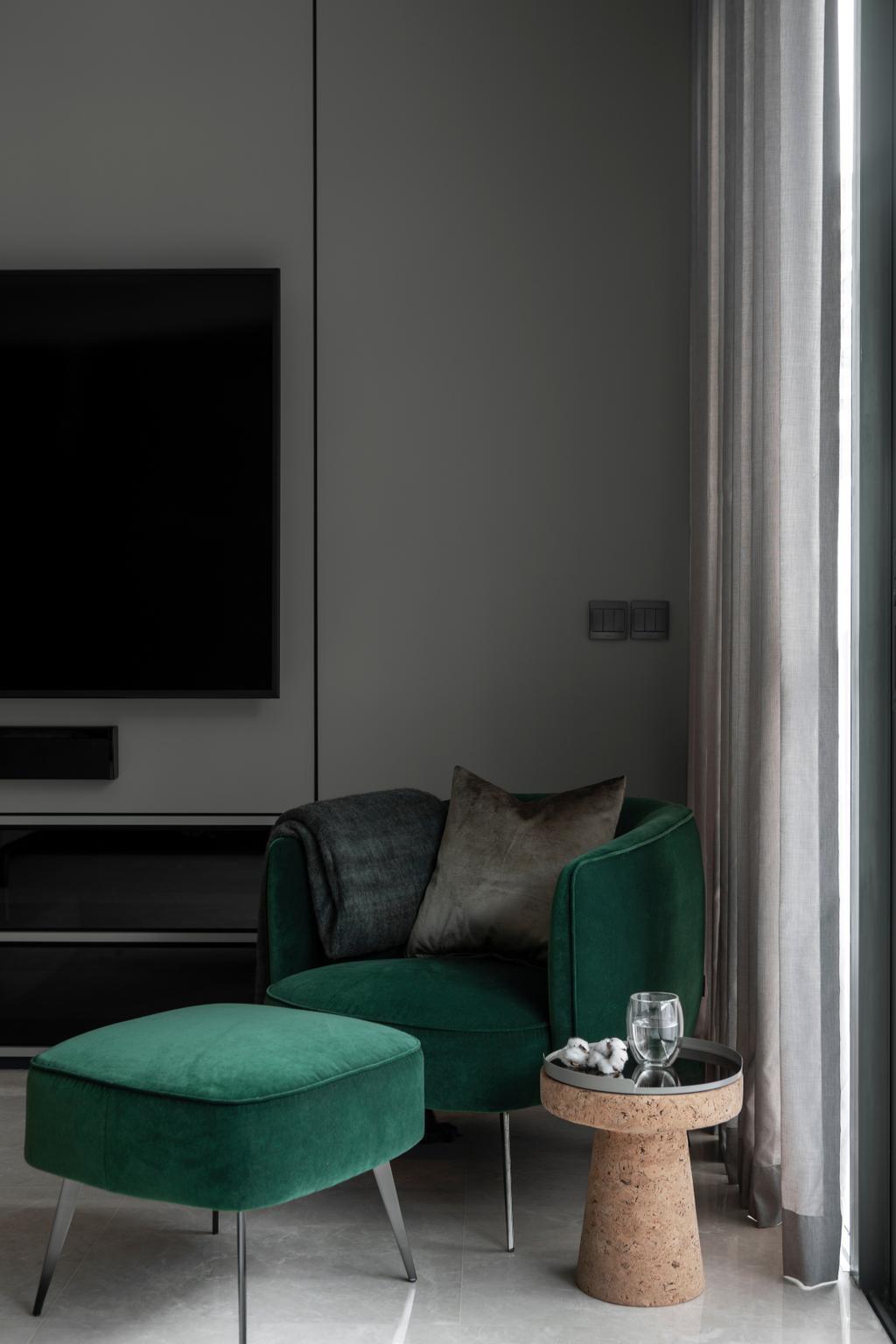 Contemporary, Landed, Living Room, Belgravia Green, Interior Designer, Rubiks Studio