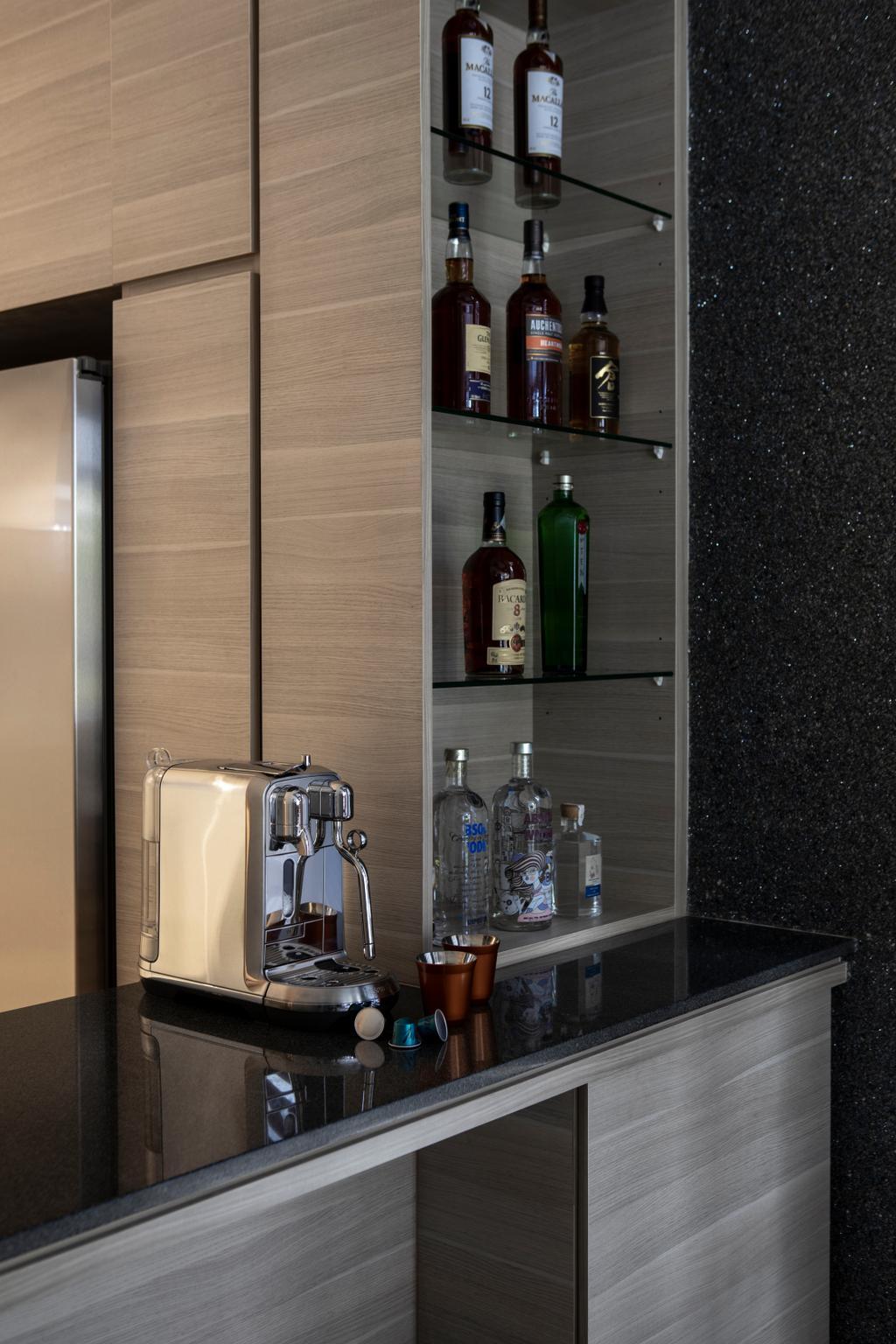 Contemporary, Landed, Kitchen, Belgravia Green, Interior Designer, Rubiks Studio