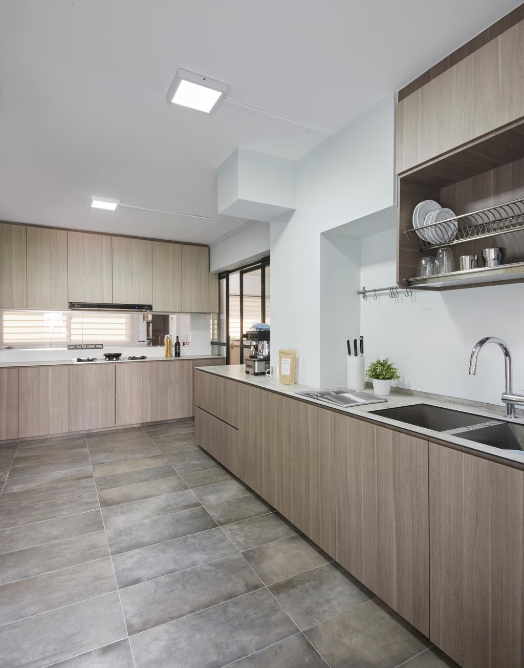 Modern, HDB, Kitchen, Bishan Street 23, Interior Designer, Rubiks Studio