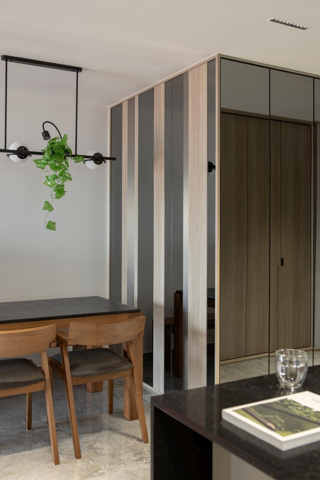 Modern, HDB, Dining Room, Bishan Street 24, Interior Designer, Rubiks Studio