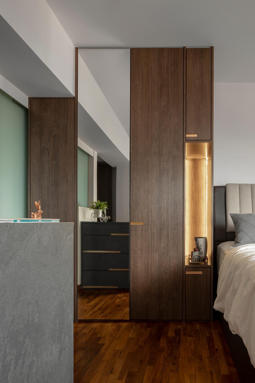 Modern, HDB, Bedroom, Bishan Street 24, Interior Designer, Rubiks Studio