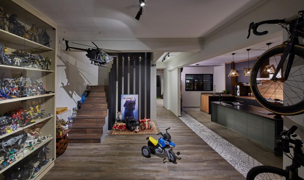 Contemporary, HDB, Kitchen, Jalan Rajah, Interior Designer, Rubiks Studio, Scandinavian