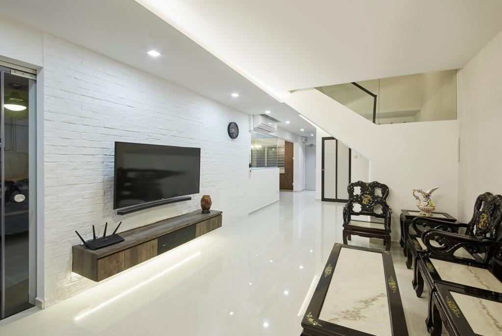 Modern, HDB, Living Room, Bishan Street 23, Interior Designer, Rubiks Studio, Scandinavian