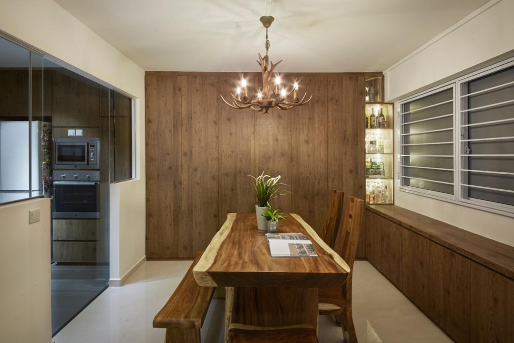 Modern, HDB, Dining Room, Bishan Street 23, Interior Designer, Rubiks Studio, Scandinavian