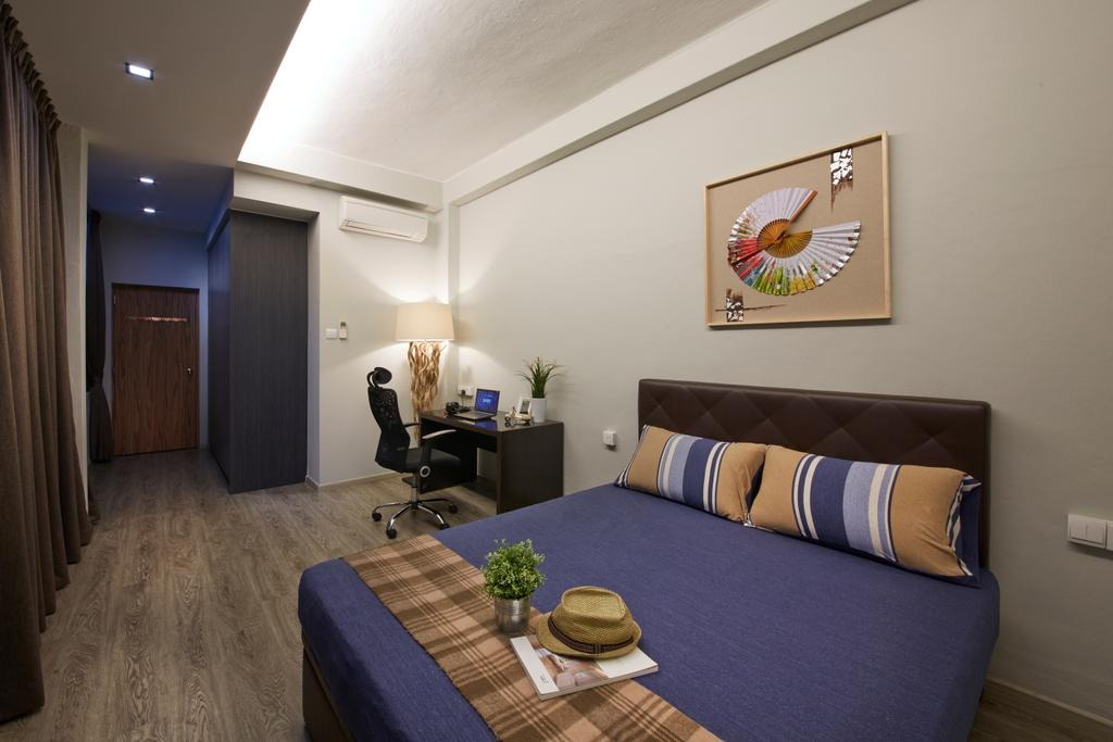 Modern, HDB, Bedroom, Kimpong Road, Interior Designer, Rubiks Studio, Contemporary