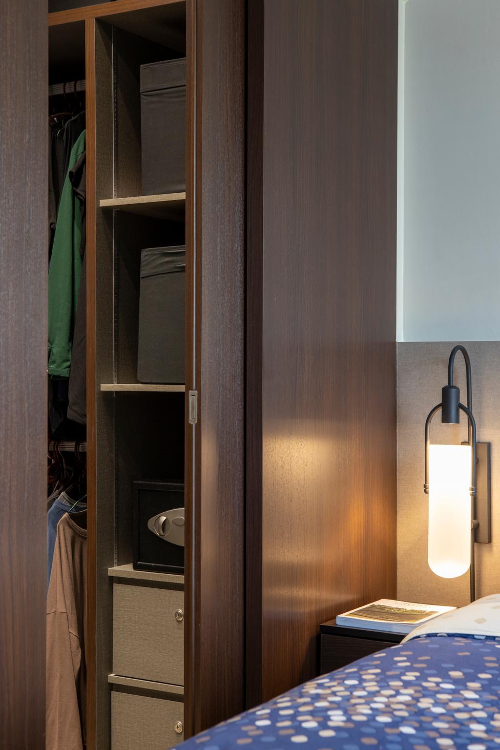 Minimalistic, HDB, Bedroom, Tampines Street 81, Interior Designer, Rubiks Studio, Contemporary
