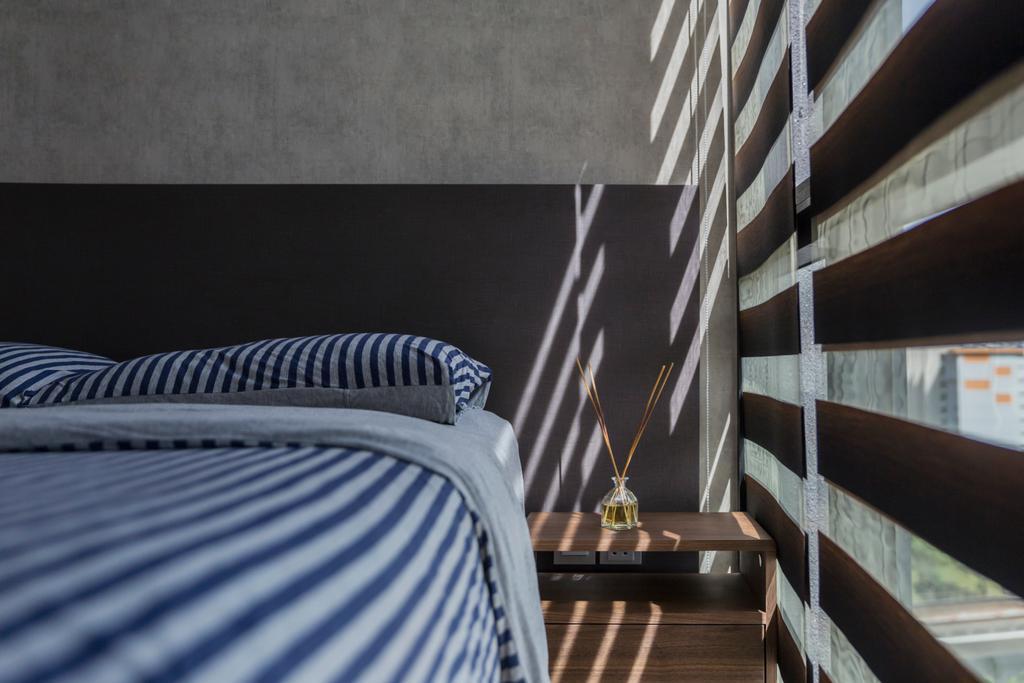 Contemporary, Condo, Bedroom, The Trilinq, Interior Designer, Rubiks Studio