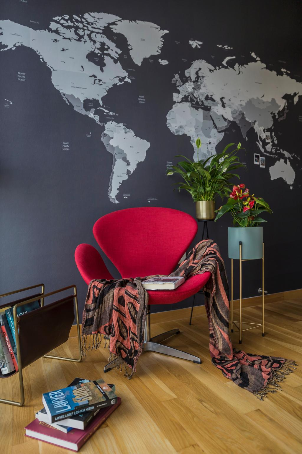 Contemporary, Condo, Balcony, The Trilinq, Interior Designer, Rubiks Studio