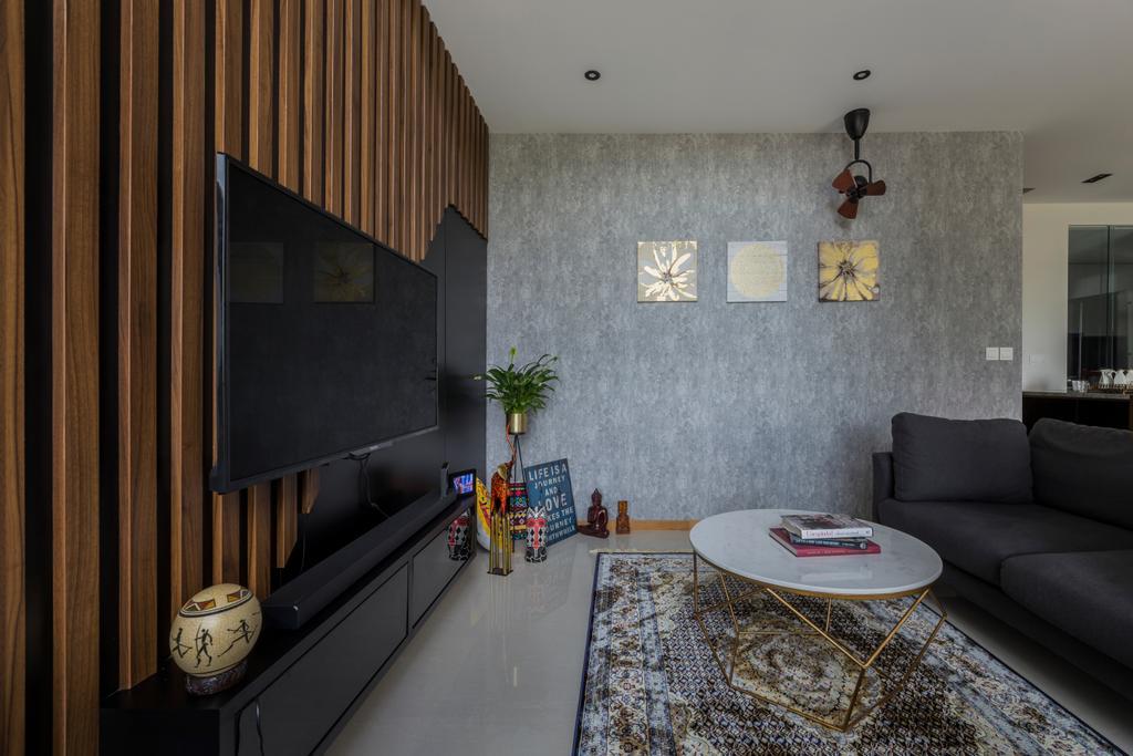 Contemporary, Condo, Living Room, The Trilinq, Interior Designer, Rubiks Studio