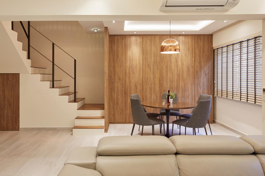 Yishun Street 81, Rubiks Studio, Modern, Scandinavian, Dining Room, HDB, Maisonette