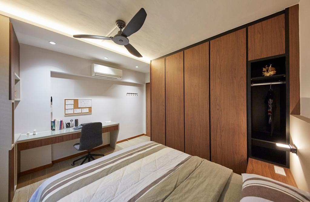 Modern, HDB, Bedroom, Yishun Street 81, Interior Designer, Rubiks Studio, Scandinavian