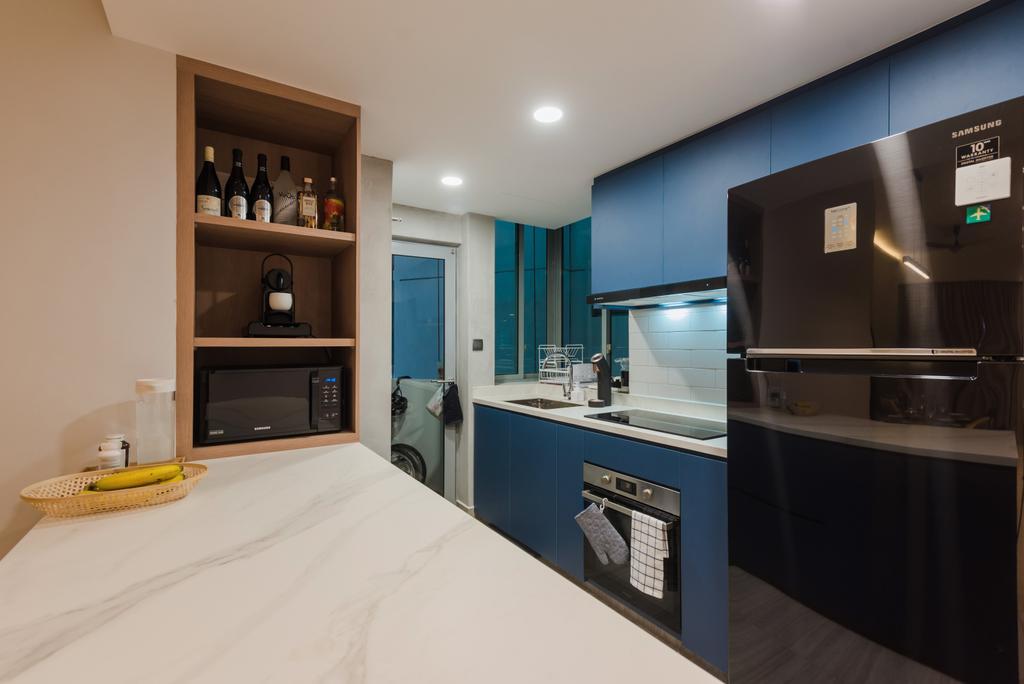 Contemporary, Condo, Kitchen, Tanamera Crest, Interior Designer, Dap Atelier