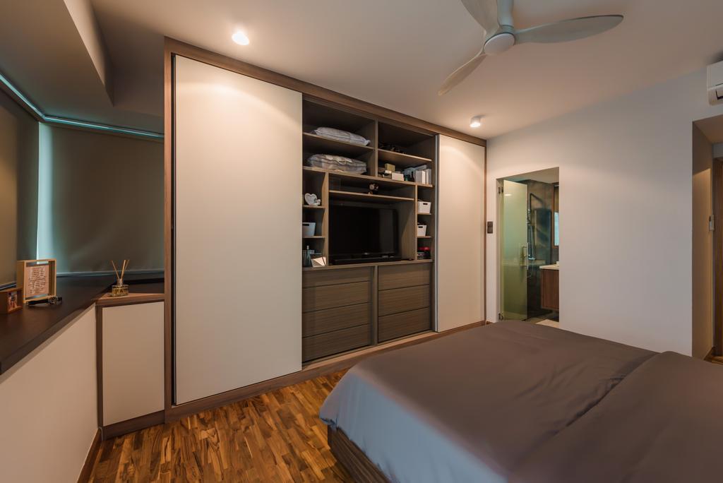 Contemporary, Condo, Bedroom, Tanamera Crest, Interior Designer, Dap Atelier