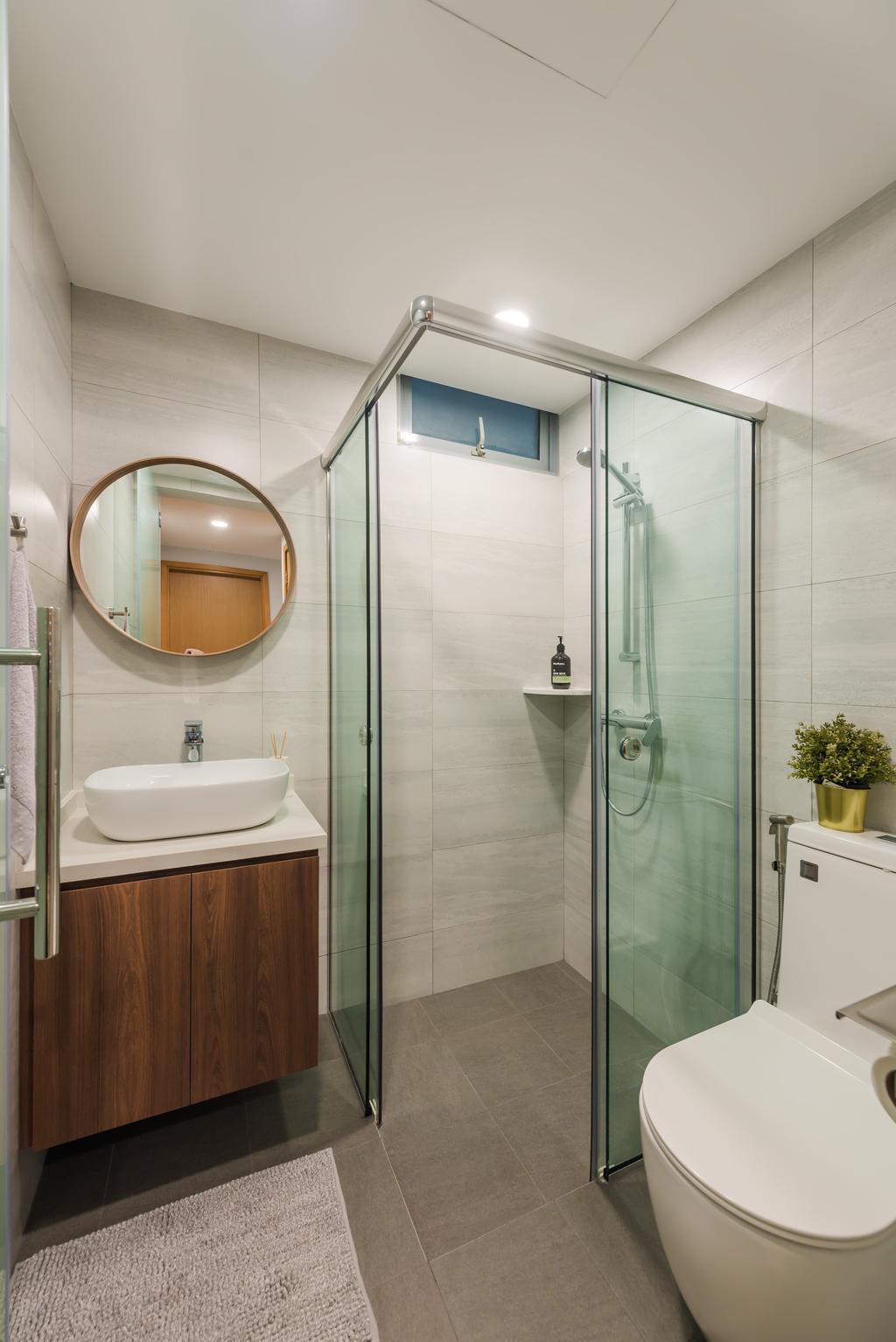 Contemporary, Condo, Bathroom, Tanamera Crest, Interior Designer, Dap Atelier