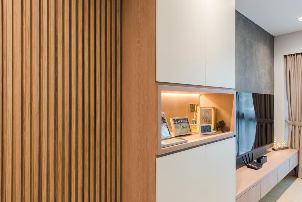 Contemporary, Condo, Living Room, Tanamera Crest, Interior Designer, Dap Atelier