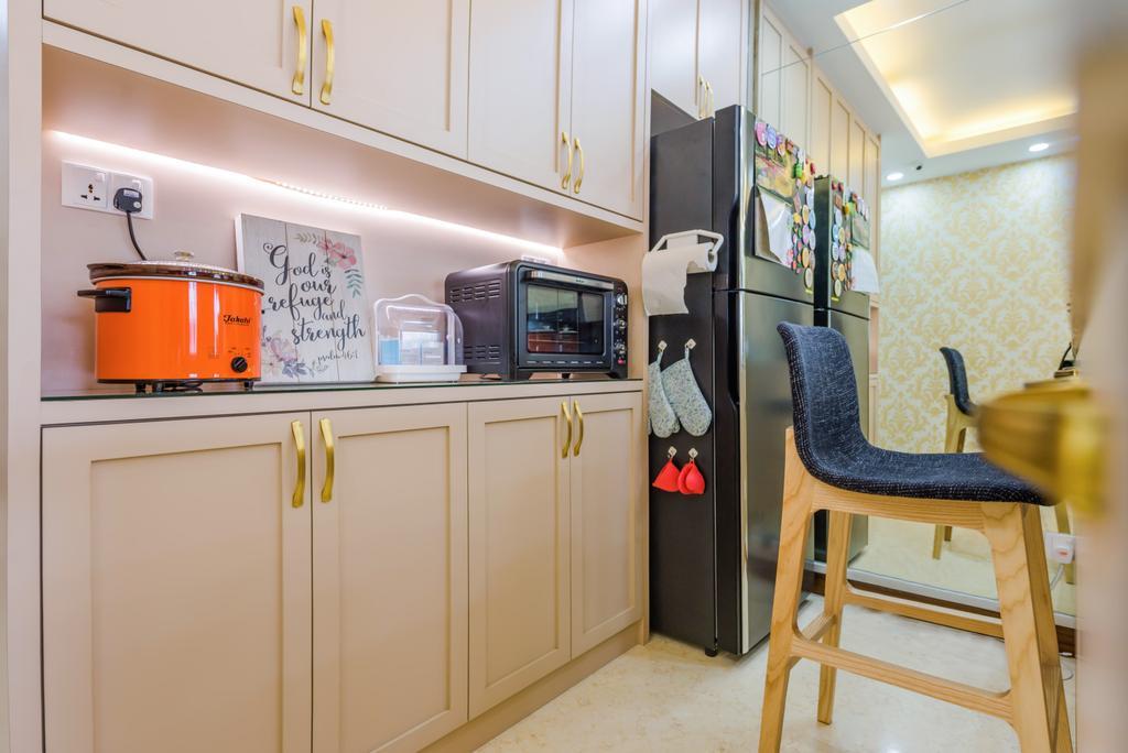 Modern, Condo, Kitchen, The Waterina, Interior Designer, Dap Atelier