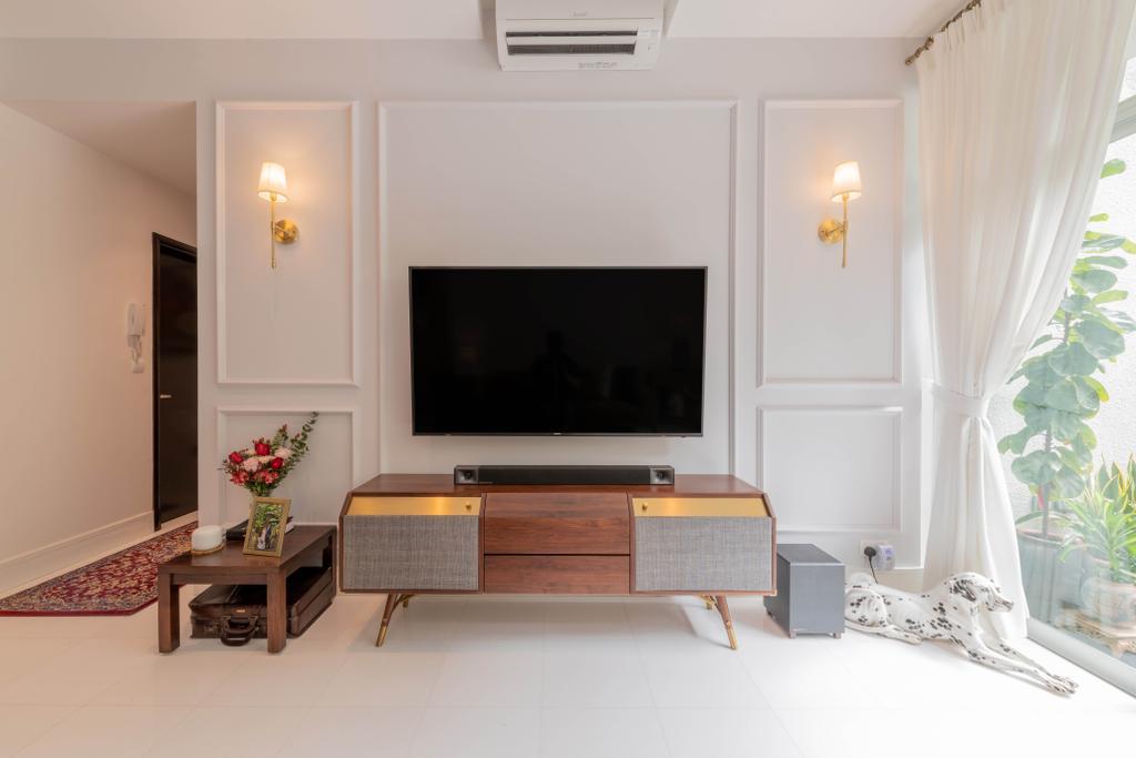 Modern, Condo, Living Room, The Raintree, Interior Designer, Meter Square, Contemporary