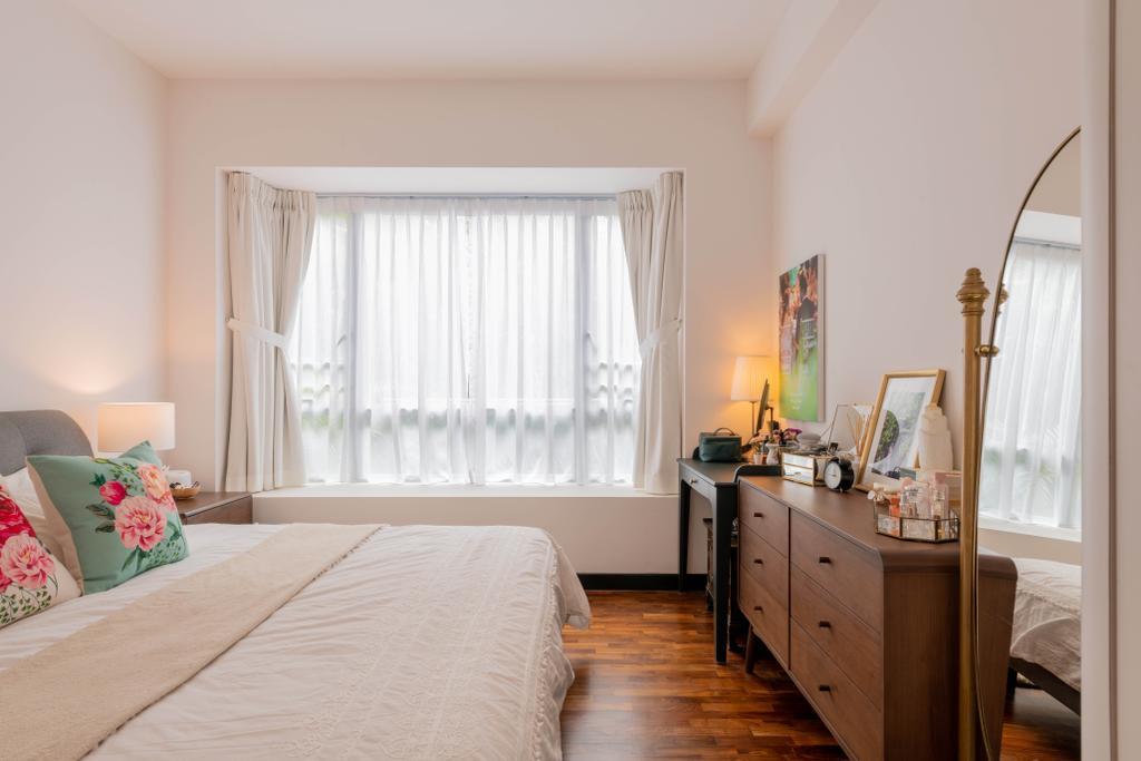 Modern, Condo, Bedroom, The Raintree, Interior Designer, Meter Square, Contemporary