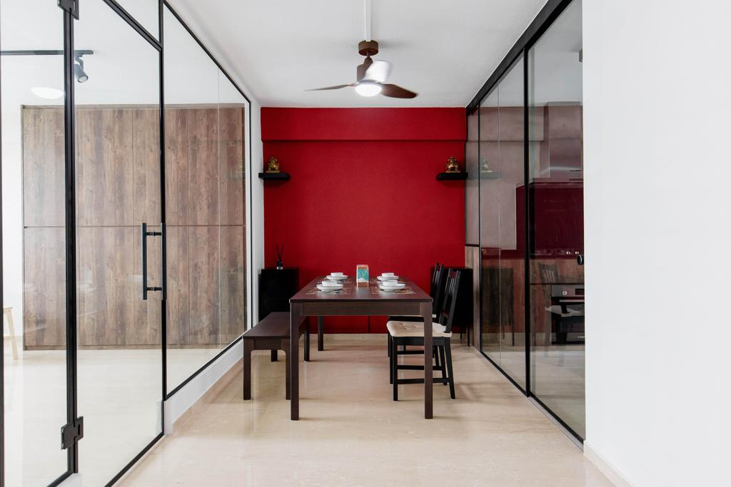 Contemporary, HDB, Dining Room, Bishan Street 22, Interior Designer, Forefront Interior