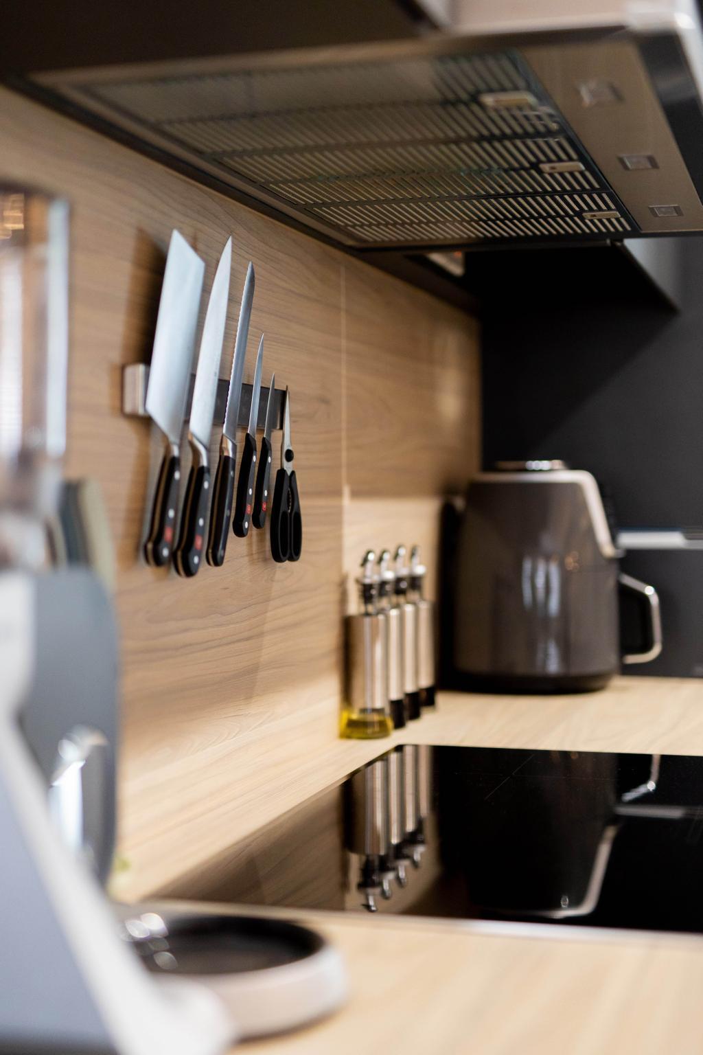 Contemporary, HDB, Kitchen, Bishan Street 24, Interior Designer, Forefront Interior, Scandinavian