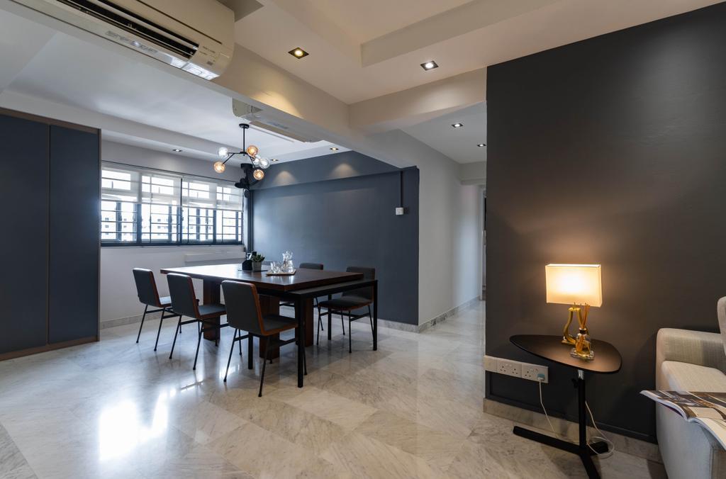 Contemporary, HDB, Dining Room, Bedok Reservoir Road, Interior Designer, Yang's Inspiration Design