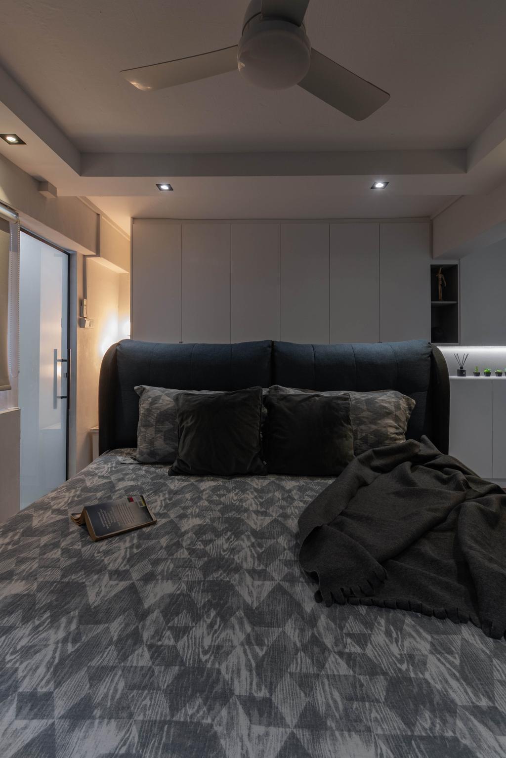 Contemporary, HDB, Bedroom, Bedok Reservoir Road, Interior Designer, Yang's Inspiration Design