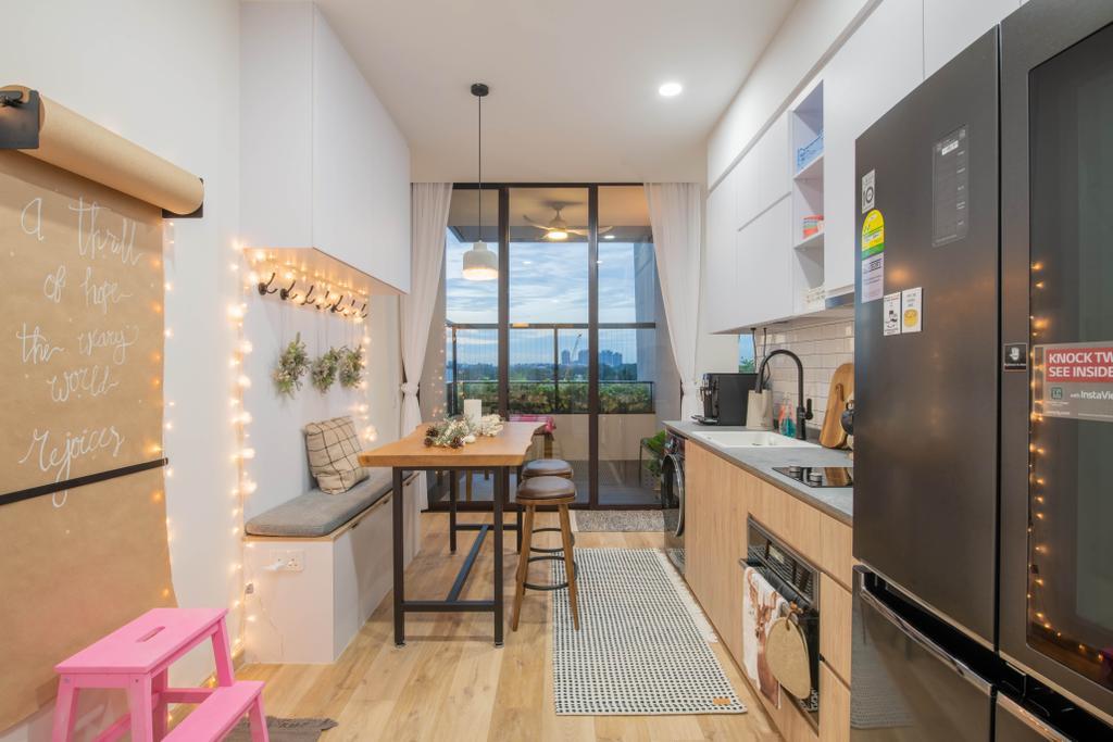 Modern, Condo, Kitchen, Prince Charles Crescent, Interior Designer, Meter Square, Scandinavian
