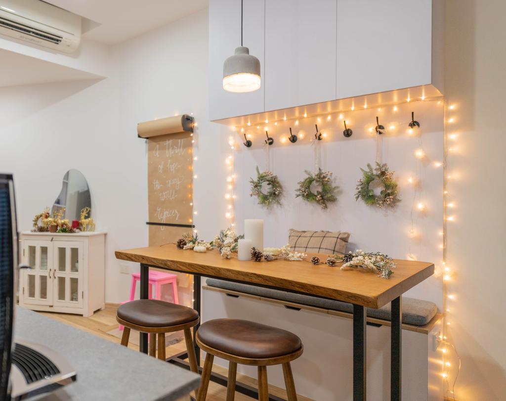 Modern, Condo, Dining Room, Prince Charles Crescent, Interior Designer, Meter Square, Scandinavian