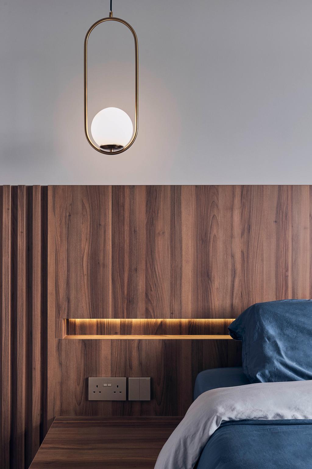 Contemporary, HDB, Bedroom, Anchorvale Plains, Interior Designer, Charlotte's Carpentry