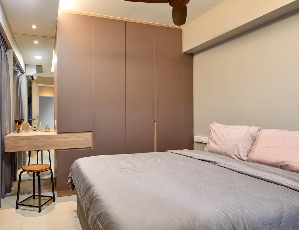 Contemporary, HDB, Bedroom, Toa Payoh Central, Interior Designer, Absolook Interior Design, Scandinavian