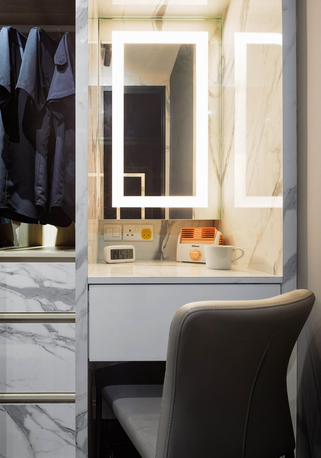 Modern, HDB, Bedroom, Circuit Road, Interior Designer, Absolook Interior Design, Contemporary
