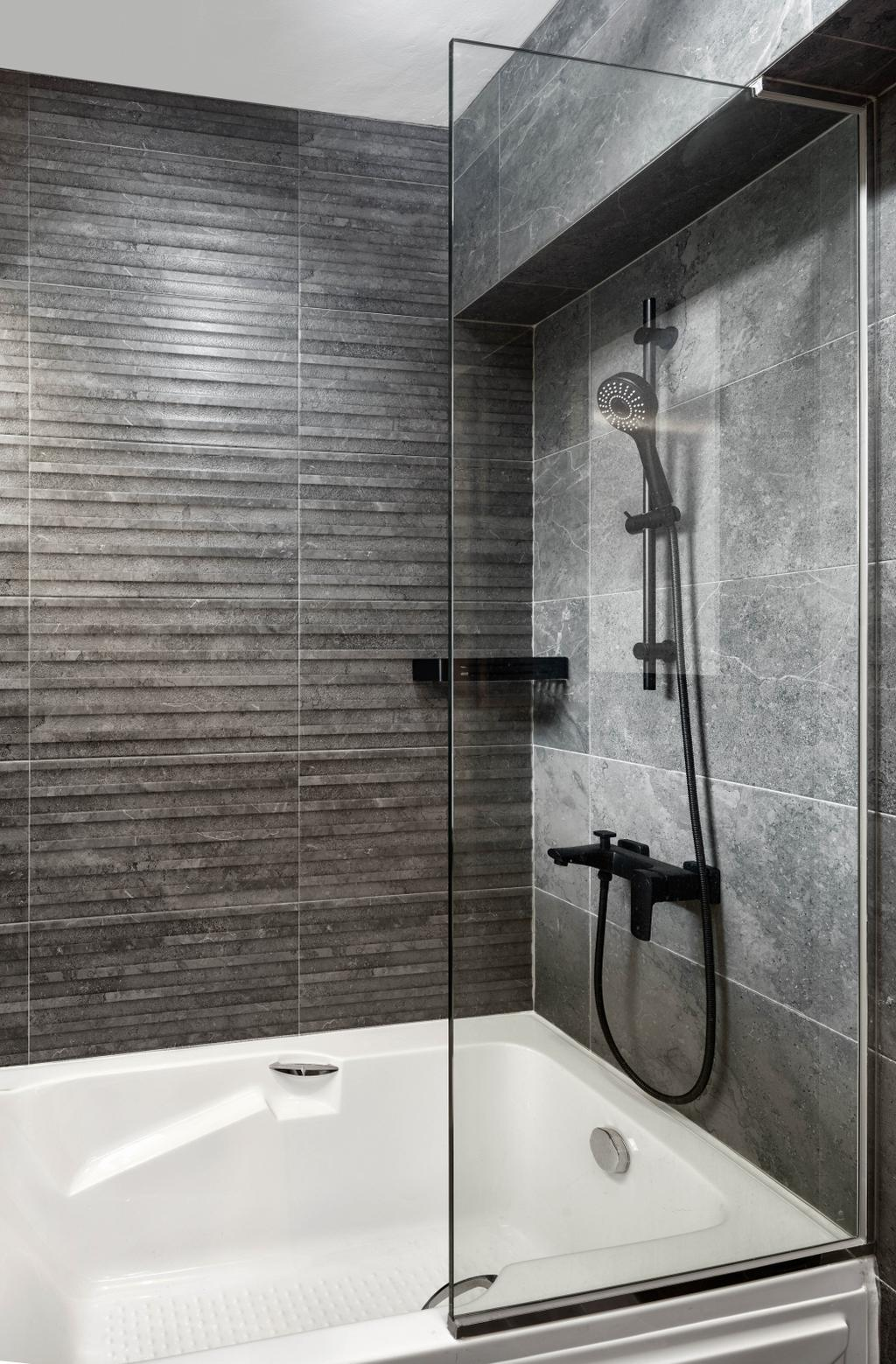Modern, HDB, Bathroom, Circuit Road, Interior Designer, Absolook Interior Design, Contemporary