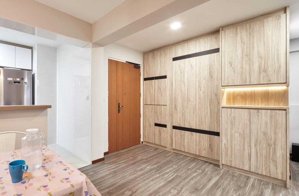 Modern, HDB, Living Room, Edgedale Plains, Interior Designer, Absolook Interior Design