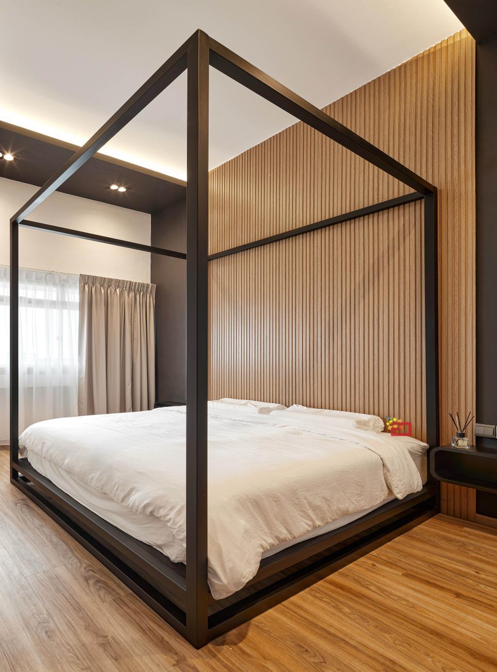 Modern, HDB, Bedroom, Lorong 1 Toa Payoh, Interior Designer, Absolook Interior Design