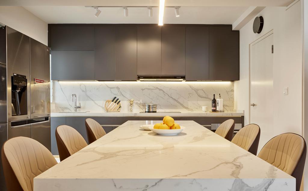 Modern, HDB, Sumang Walk, Interior Designer, Absolook Interior Design, Contemporary
