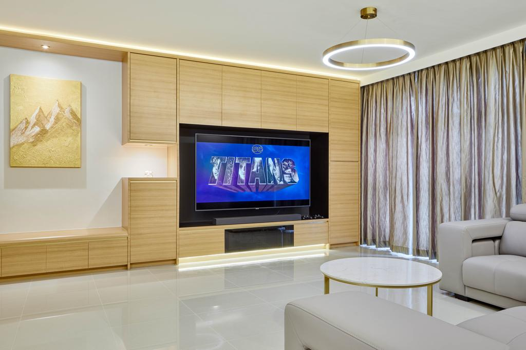 Modern, HDB, Living Room, Sumang Walk, Interior Designer, Absolook Interior Design, Contemporary