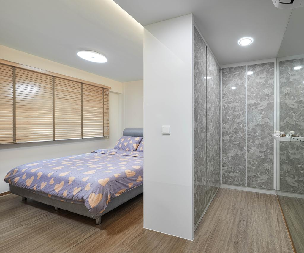 Modern, HDB, Bedroom, Yishun Avenue 6, Interior Designer, Absolook Interior Design