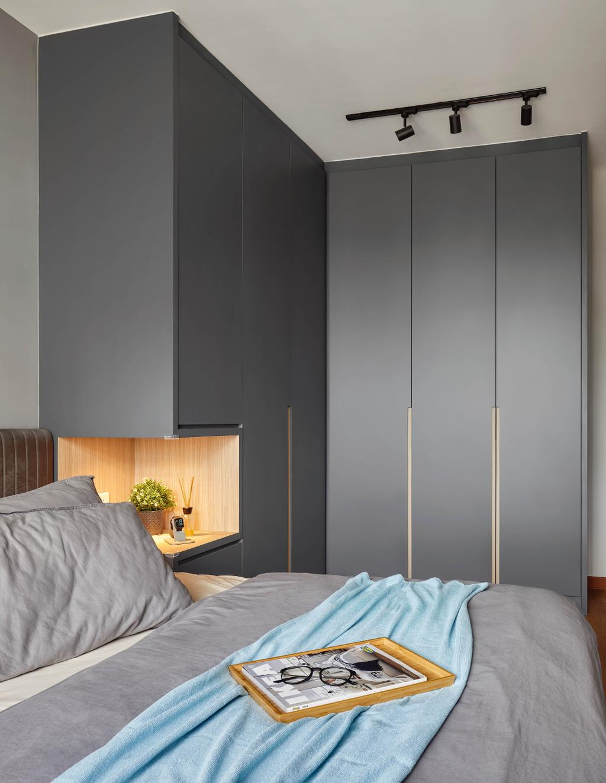 Contemporary, HDB, Bedroom, Tampines North Drive 1, Interior Designer, Absolook Interior Design, Scandinavian