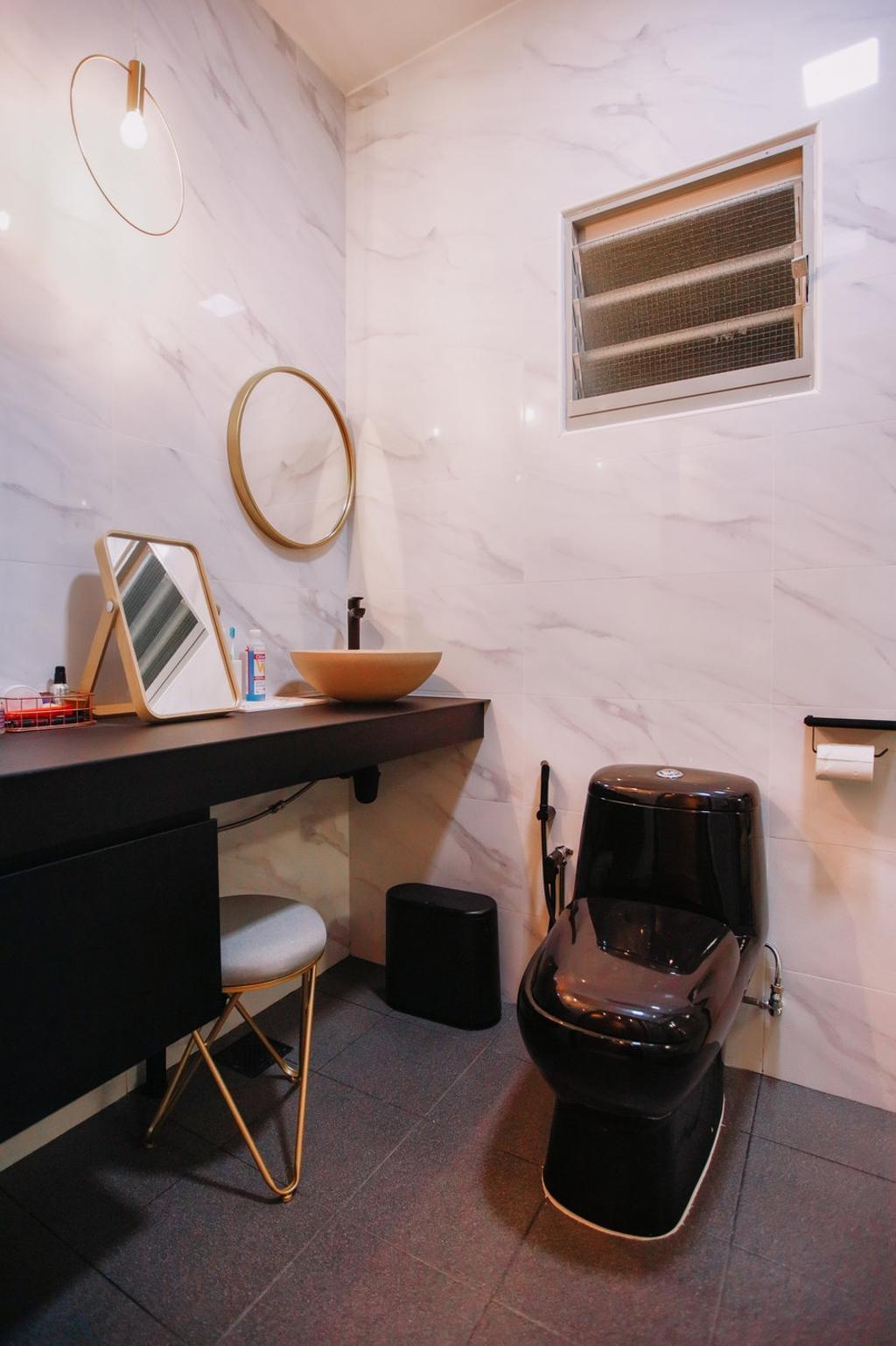 Modern, HDB, Bathroom, Punggol Place, Interior Designer, The Wooden Platform, Scandinavian